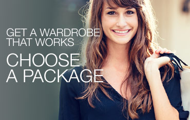 Get a wardrobe that works. Choose a package.
