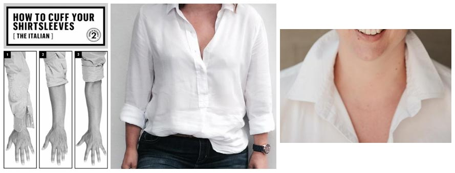 The White Shirt - a crisp classic